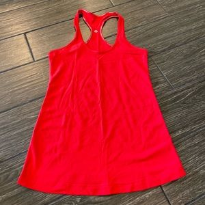 Lululemon Cool Racerback in Red Size 8